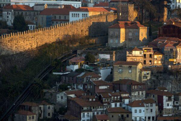 Castle wall Porto